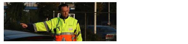 Verkeers- en parkeerbegeleiding - MD Security, beveiliging Den Bosch