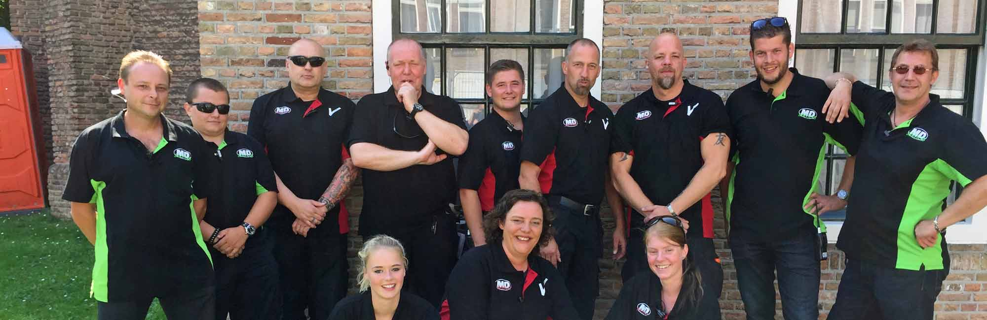 - MD Security, beveiliging Den Bosch